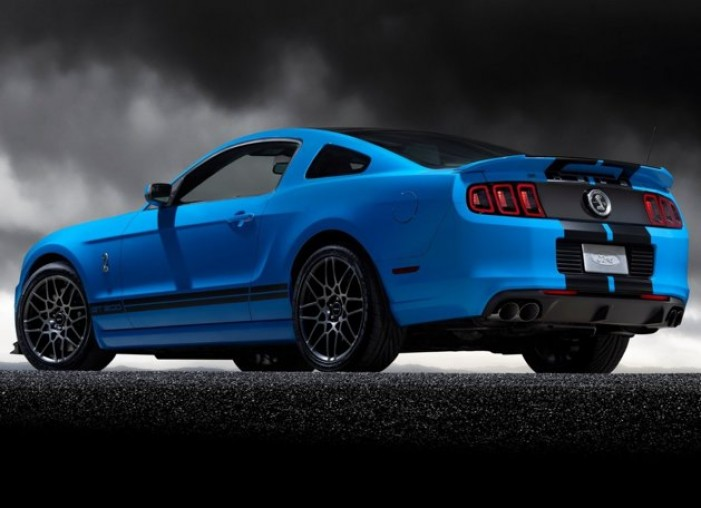 2013 Shelby GT500 Mustang SVT