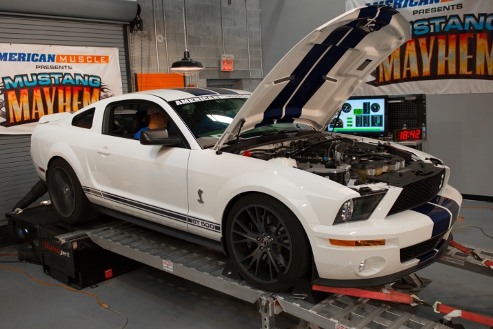 S197 2009 Shelby GT500 Mustang