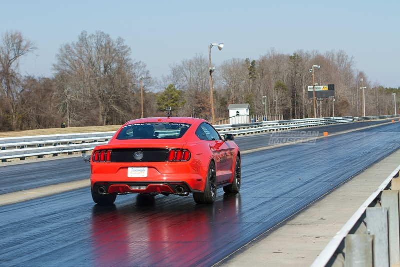 EcoBoost Mustang Drag Strip
