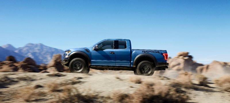 2017 Ford Raptor Side Shot