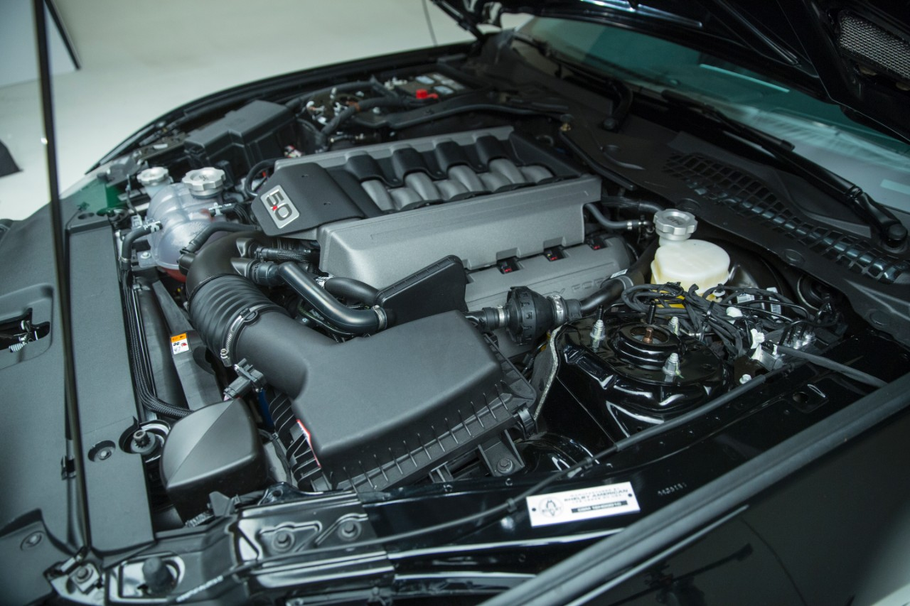 Engine Bay Of The  Shelby Gt H Mustang