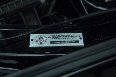 The Identification Badge off the Shelby GT-H Mustang