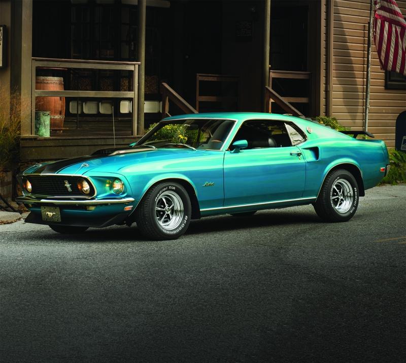 Blue-OldSchool-Mustang-001