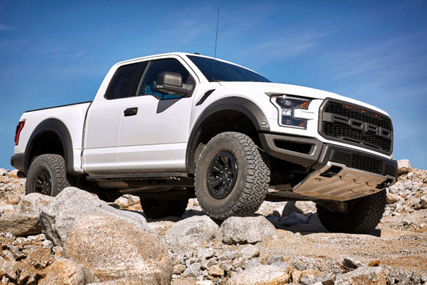 2017 Ford Raptor flexxing