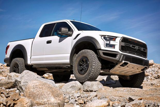 2017 Ford Raptor flexxing