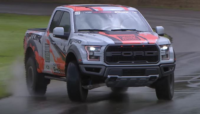 2017 Raptor at Goodwood FOS driven by the Stig