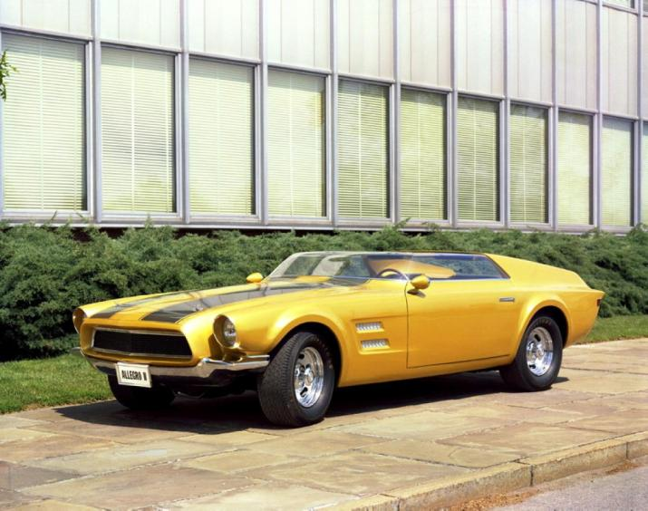 1967 Ford Mustang Allergo II Concept
