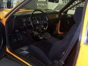 McLaren Mustang Interior
