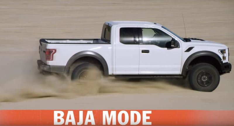 2017 Raptor Baja Desert Racing