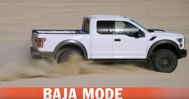 2017 Raptor Baja Desert Racing