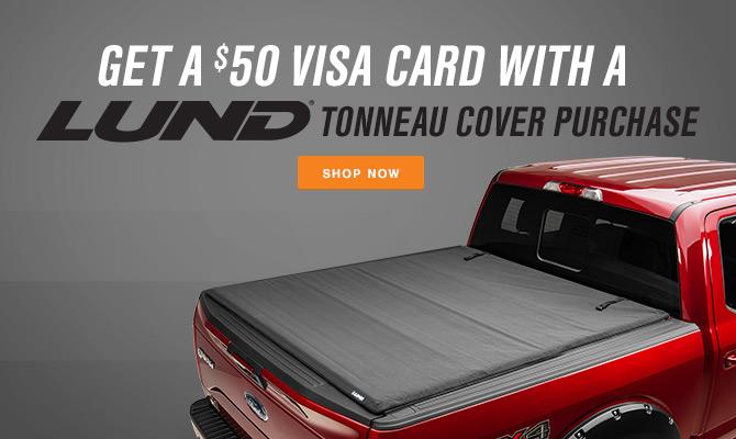 Lund F-150 Tonneau Cover Rebate