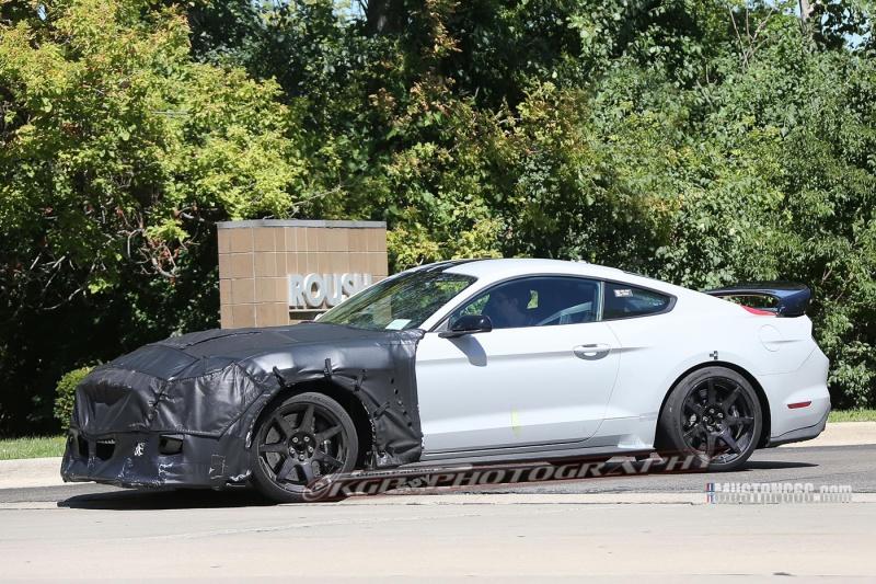 2018 Shelby GT500 Mustang Test Mule