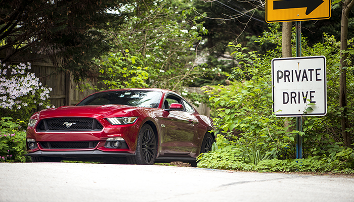 Cilio 2016 Mustang GT Ruby Red