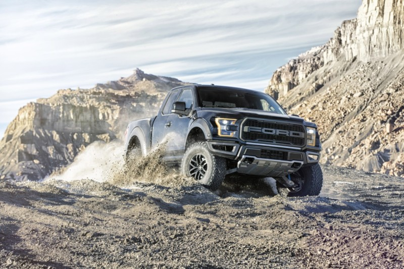 Black 2017 Ford Raptor