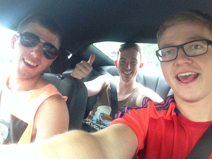 From Left to Right: Connor, Random New Orleans Hitchhiker, Alex Forster