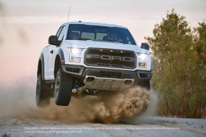 2017 Ford Raptor SVT Off Roading