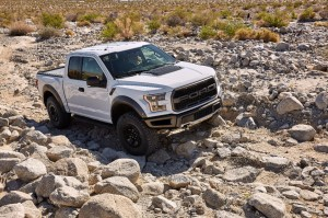 White 2017 Ford Raptor