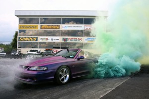 Am2016 Burnout Contest Winner