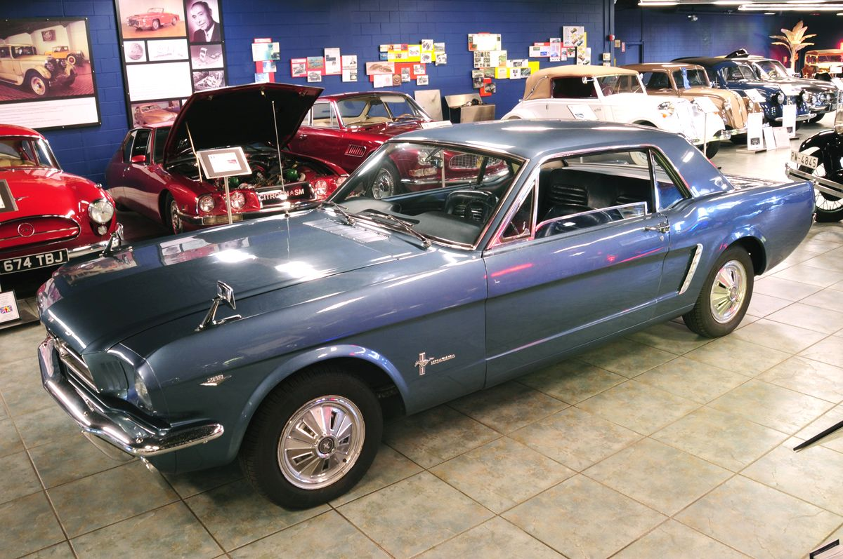 Mustang all wheel drive