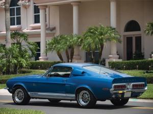 1968 Shelby GT500 KR Tail Lights