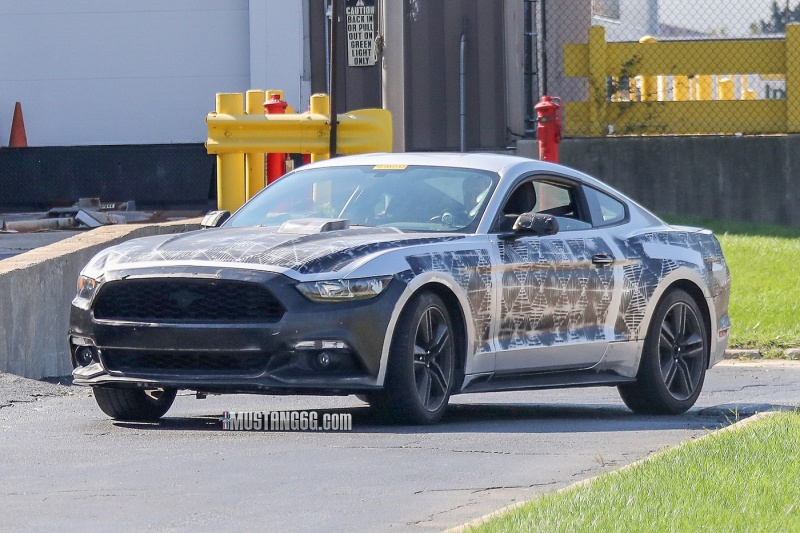 2018 Mustang Test Vehicle