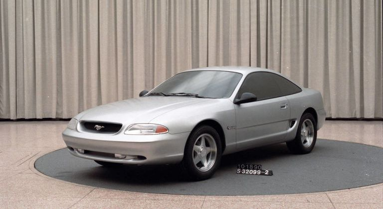 Front Wheel Drive Mustang