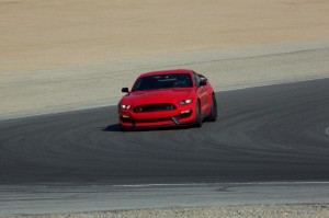 Shelby GT350 on track