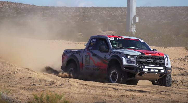 2017 ford svt raptor completes baja with seconds to spare for Plante 21 svt