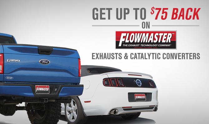 AmericanMuscle Flowmaster Exhaust Rebate
