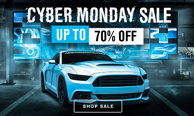 AmericanMuscle Cyber Monday Sale