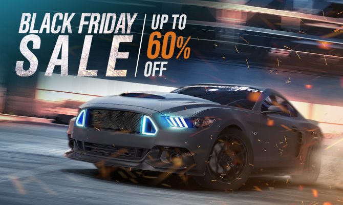AmericanMuscle Black Friday Sale