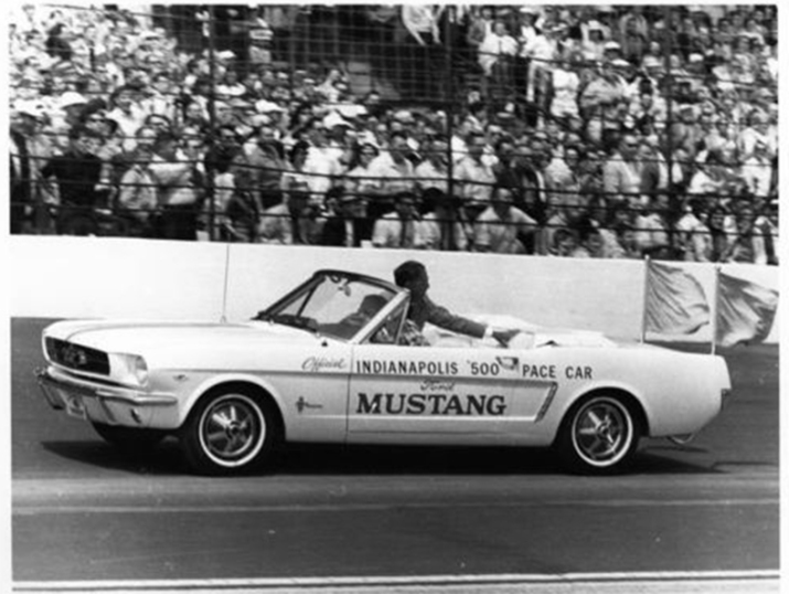 1964 Indy 500 Ford Mustang