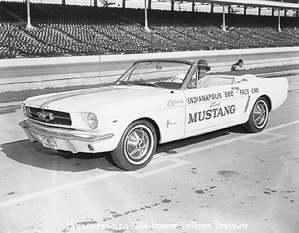rare mustangs 1964 indy 500 pace car blog. Black Bedroom Furniture Sets. Home Design Ideas