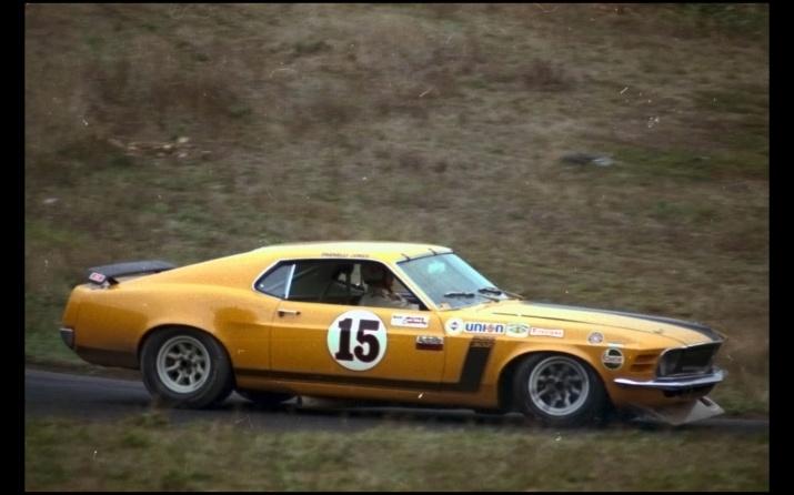 1970 Boss 302 Trans Am race