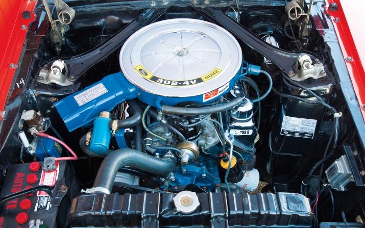 1969 Boss 302 Mustang Engine
