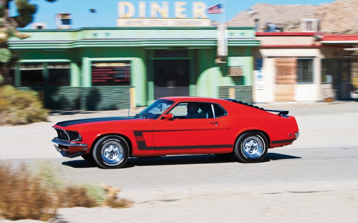 Boss 302 1969 Mustang