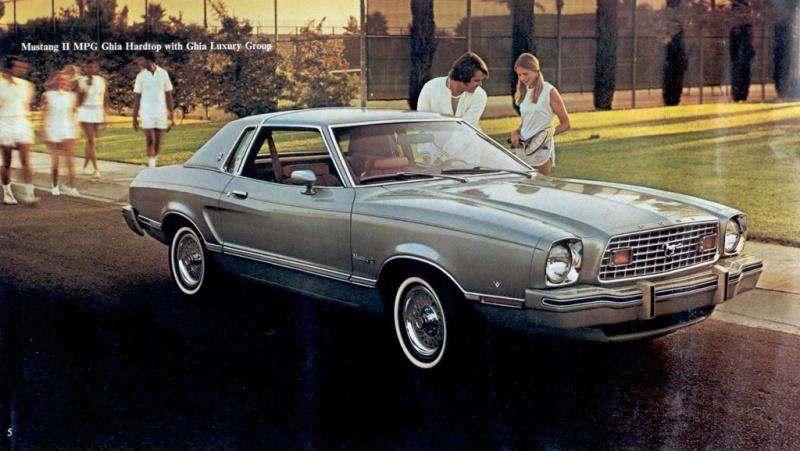 Mustang II Advertisement