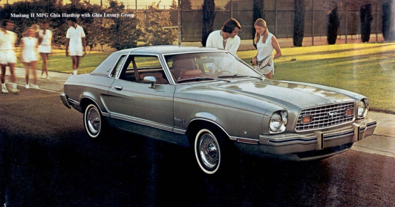 The Four Cylinder Mustang Where It All Began Americanmuscle Blog