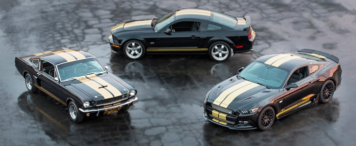 50 years of Shelby GT350 H
