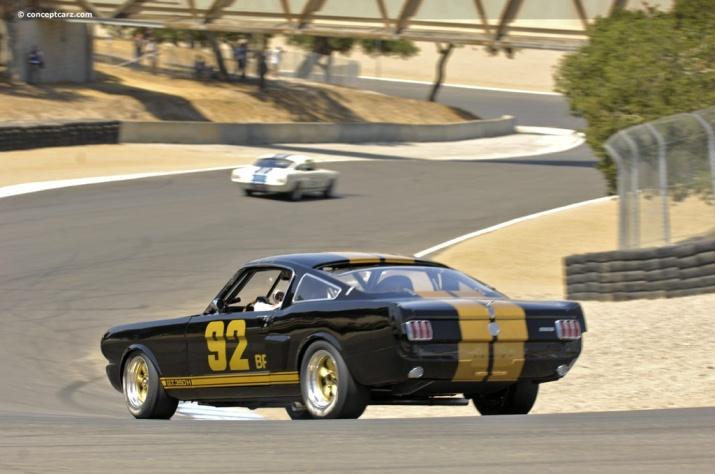 Shelby GT350H at Laguna Seca