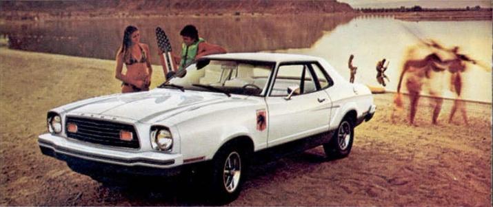 Mustang II Ad