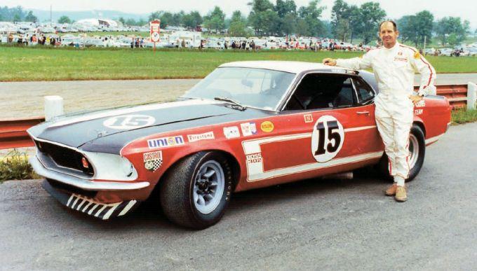 Trans Am Boss 302 Mustang 1969