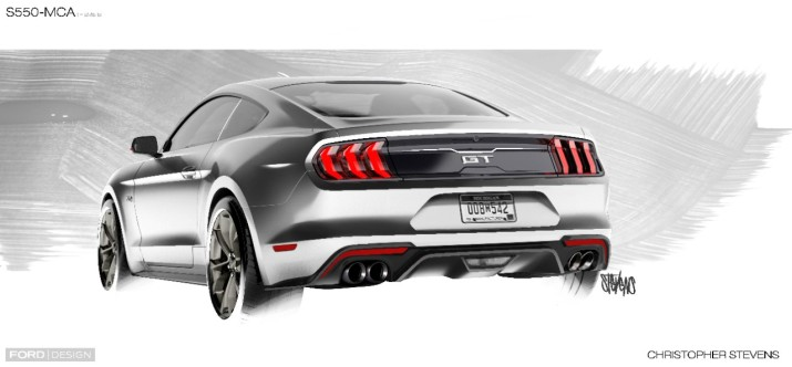 2018 Mustang Sketch