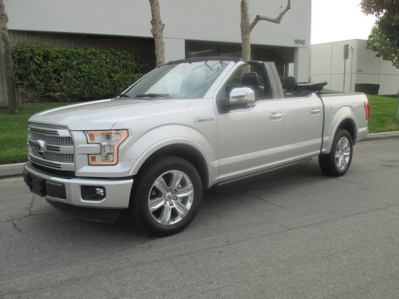 Convertible Ford F-150