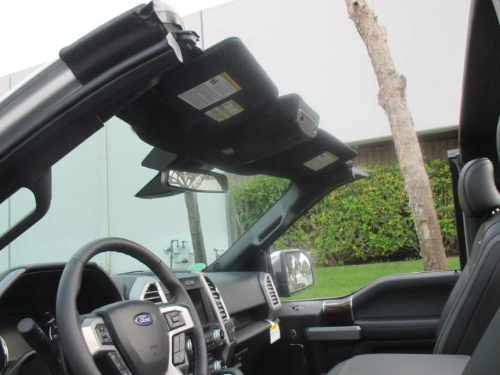 Convertible F-150 Interior