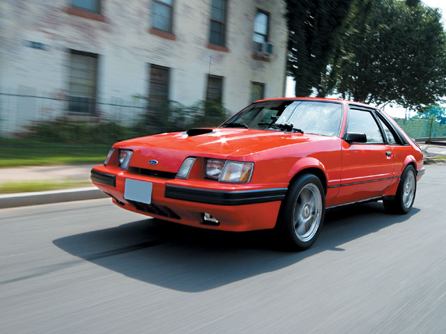 1984 Mustang Svo The First High Performance Turbo Mustang