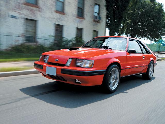1984 SVO Mustang