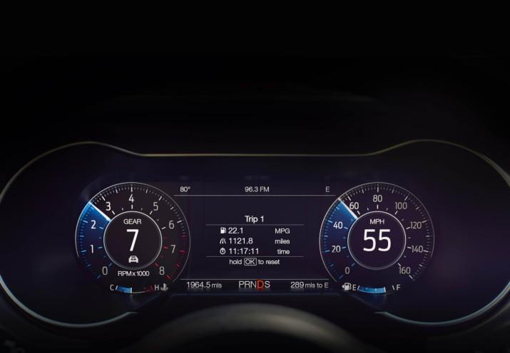 2018 Mustang Interior Dash