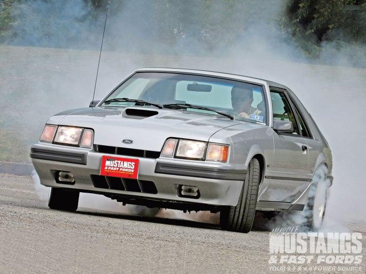 SVO Mustang Burnout