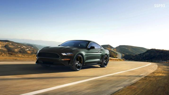 2018 Bullitt Mustang Rendering